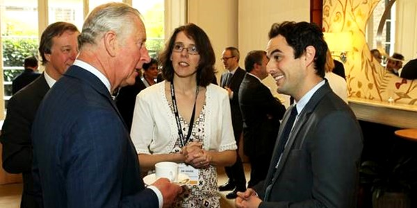 Simon Shelley meets Prince Charles