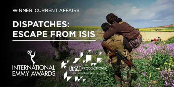 'Escape from ISIS' wins International Emmy