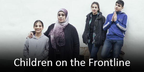 Children on the Frontline wins AIB award