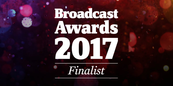 ITNP is shortlisted for the Broadcast Awards 2017