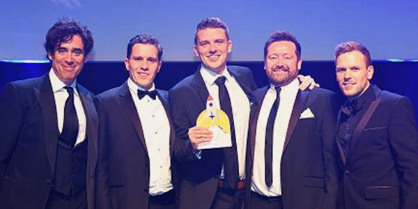 ITNP Advertising team win gold at the CMA Awards