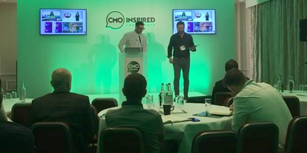 Advertising speak at CMO Inspired Conference