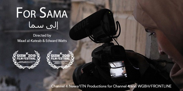 "Channel 4 and PBS Frontline's ""For Sama"" Scoops another Award at SXSW Film Festival"